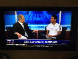 Fox 35 Sports Live Interview